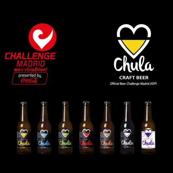 Chula, Official Beer of Challenge Madrid